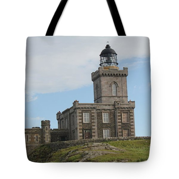 Tote Bag featuring the photograph Robert Stevenson Lighthouse by David Grant