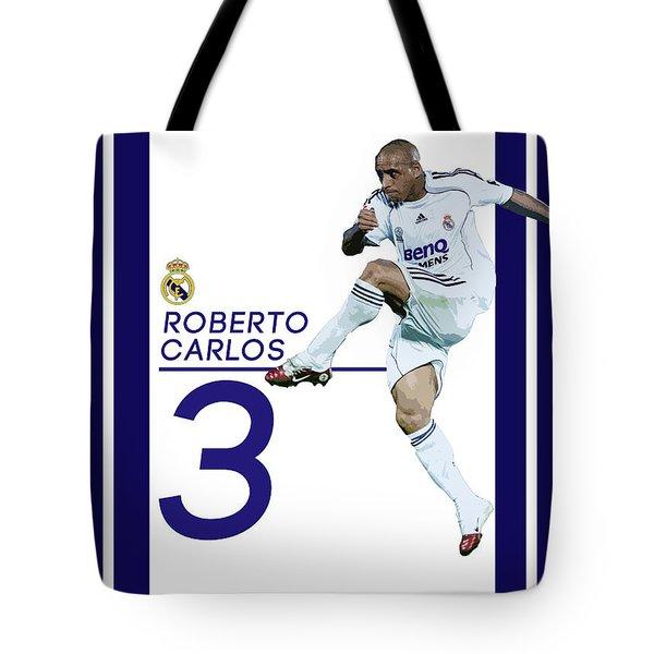 Roberto Carlos Tote Bag by Semih Yurdabak