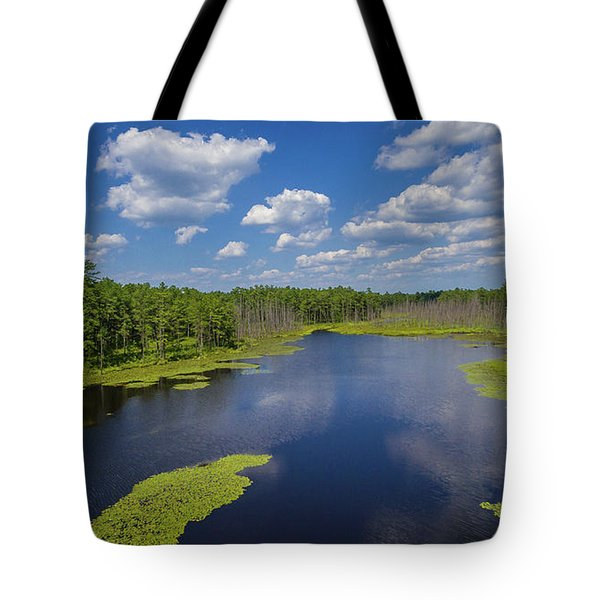 Tote Bag featuring the photograph Roberts Branch by Louis Dallara