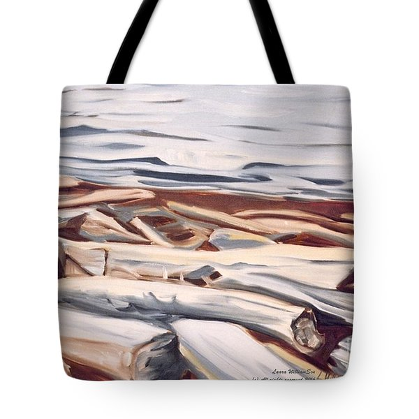 Roberts Creek, Sunshine Coast, B.c. Tote Bag