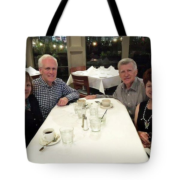 Robin And Mark Tote Bag