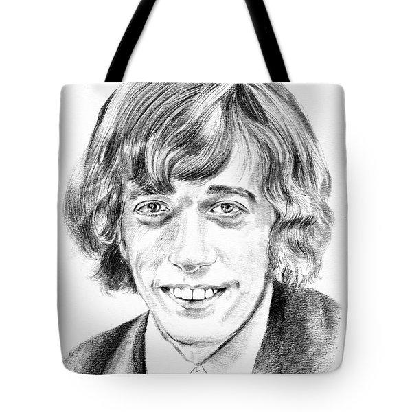 Robin Gibb Drawing Tote Bag