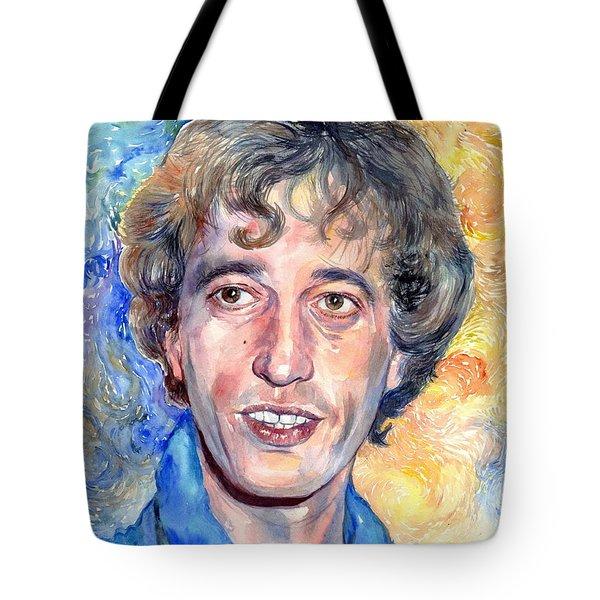 Robin Gibb Portrait Tote Bag