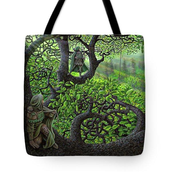 Robin Hood Tote Bag by Dave Luebbert