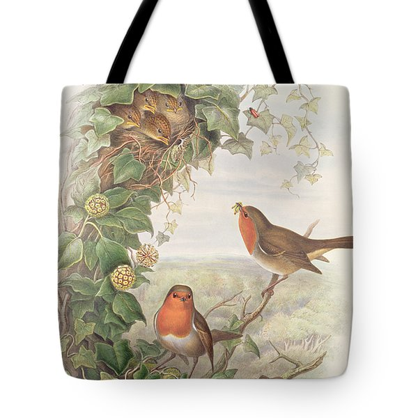 Robin Tote Bag by John Gould