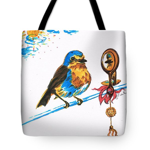 Robins Day Tasks Tote Bag