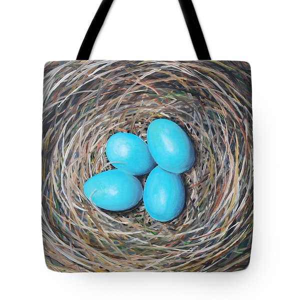 Robin's Eggs Tote Bag