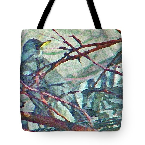 Robins Impression Of Spring Tote Bag