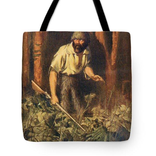 Robinson Crusoe Alone On The Island. I Tote Bag