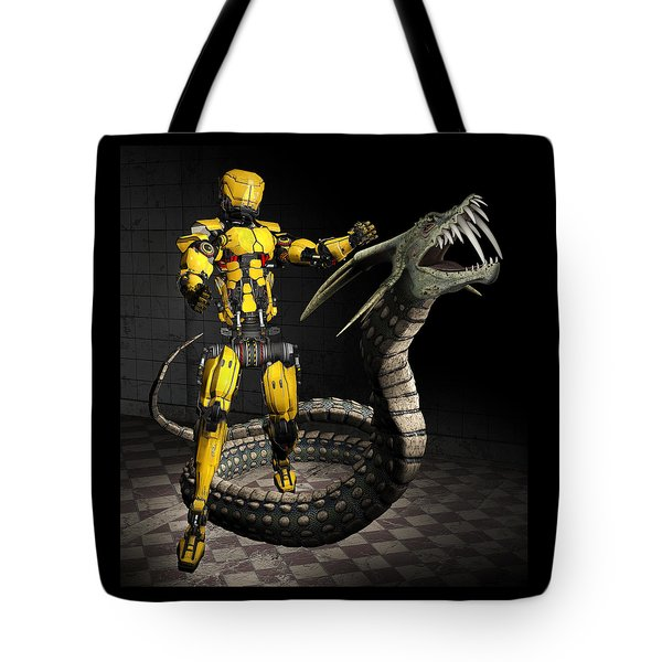 Robot Series 01 Tote Bag