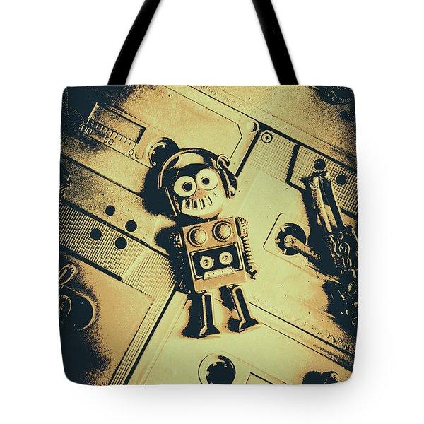 Robotic Trance Tote Bag