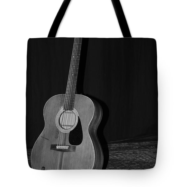 Robyn Hitchcock's Guitar Tote Bag by Lauri Novak