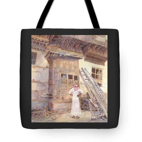 Rochan With Figure Tote Bag by Dorothy Boyer