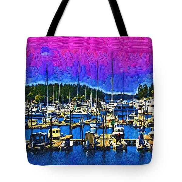 Roche Harbor 1 Tote Bag