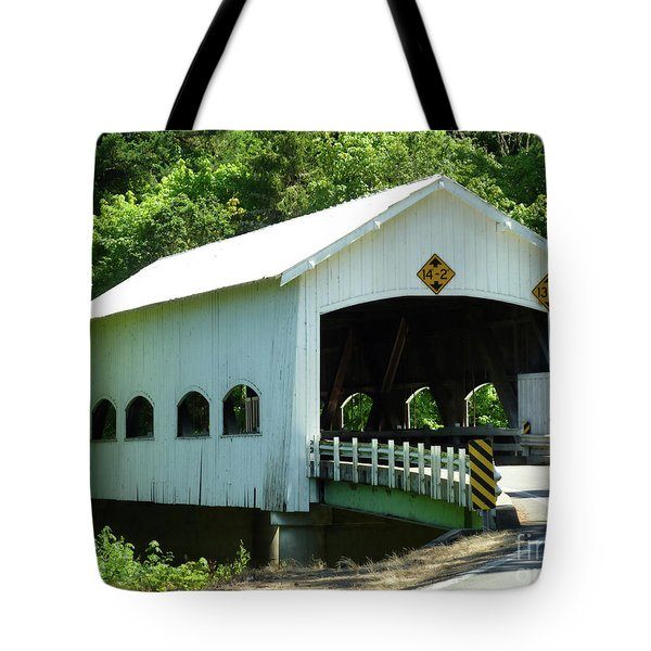 Rochester Bridge Tote Bag by Methune Hively
