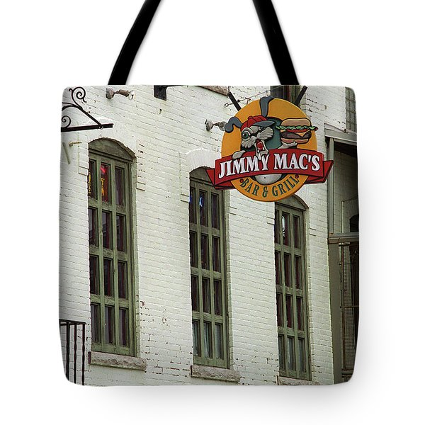 Tote Bag featuring the photograph Rochester, New York - Jimmy Mac's Bar 3 by Frank Romeo
