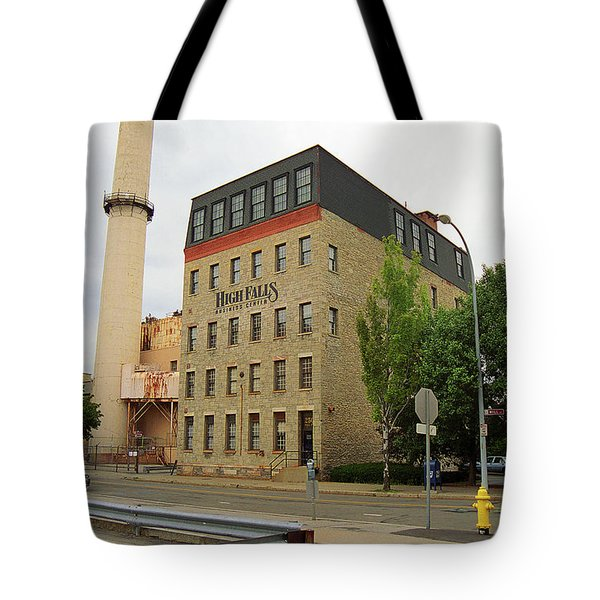 Rochester, New York - Smokestack 2005 Tote Bag by Frank Romeo