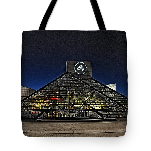 Rock And Roll Hall Of Fame - Cleveland Ohio - 5 Tote Bag