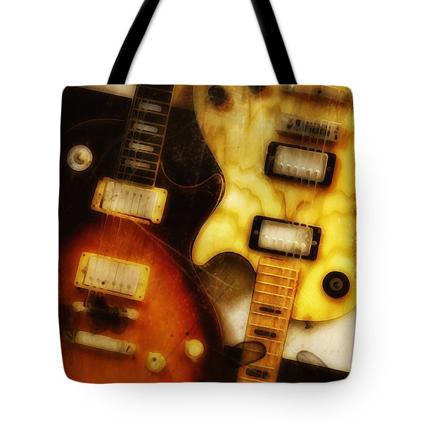 Rock And Roll Never Forgets Tote Bag by Bill Cannon