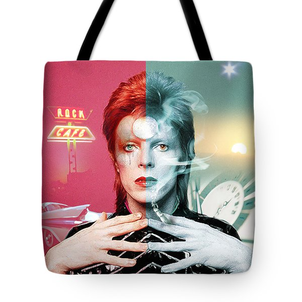 Rock And Roll Suicide Tote Bag