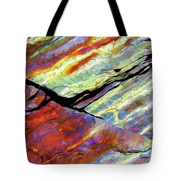Rock Art 16 Tote Bag