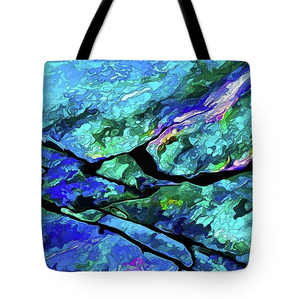 Rock Art 18 Tote Bag