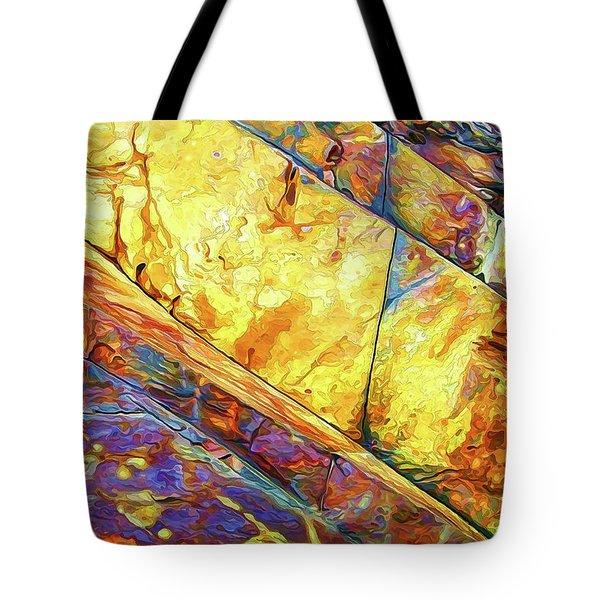 Rock Art 23 Tote Bag