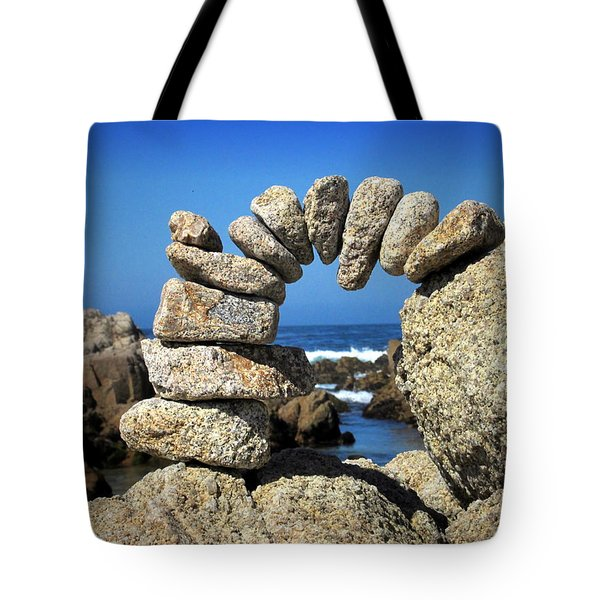 Rock Art One Tote Bag by Joyce Dickens