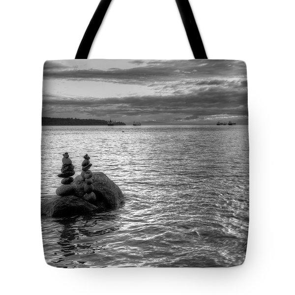 Rock Balance Tote Bag