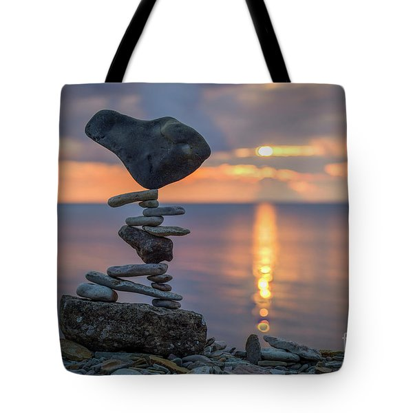 Rock Boarding Tote Bag