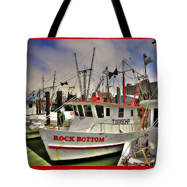 Tote Bag featuring the photograph Rock Bottom by Savannah Gibbs