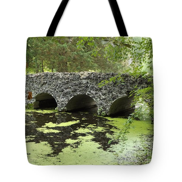 Rock Bridge Tote Bag by Erick Schmidt