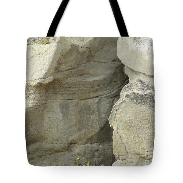 Rock Cleavage Tote Bag