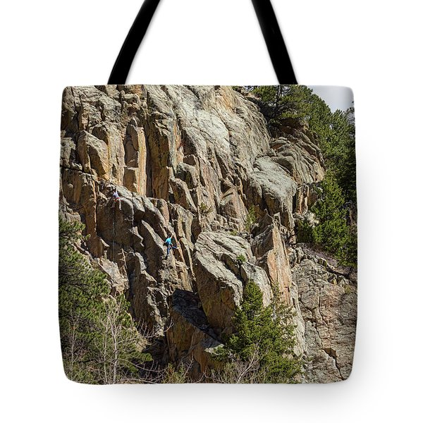 Tote Bag featuring the photograph Rock Climbers Paradise by James BO Insogna