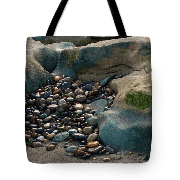 Rock Cradle Tote Bag by Randy Bayne