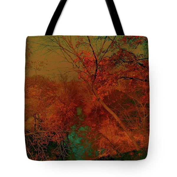 Tote Bag featuring the photograph Rock Creek At M by EDi by Darlene
