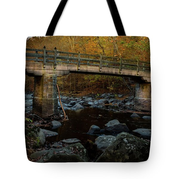 Rock Creek Park Bridge Tote Bag