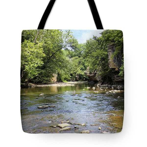 Rock Creek Tote Bag by Scott Kingery