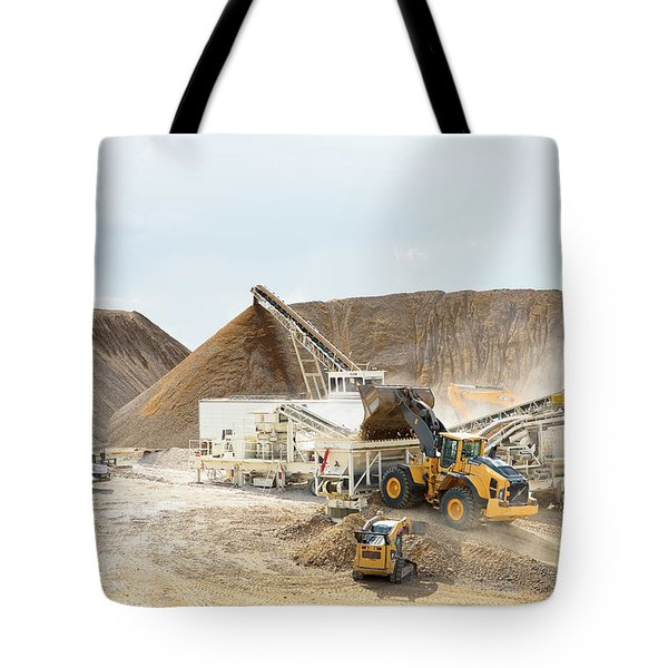 Rock Crushing 3 Tote Bag