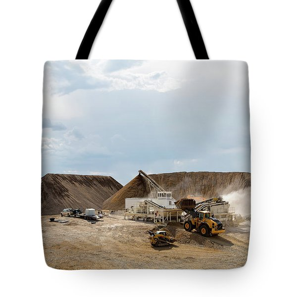 Rock Crushing Tote Bag