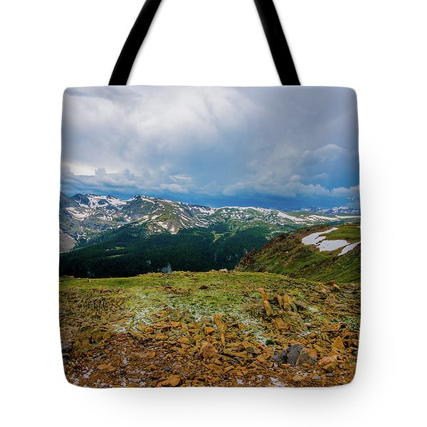 Rock Cut 2 - Trail Ridge Road Tote Bag
