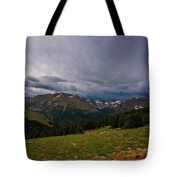 Rock Cut 3 - Trail Ridge Road Tote Bag