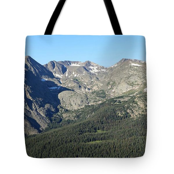 Rock Cut - Rocky Mountain National Park Tote Bag