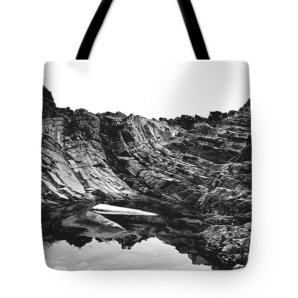 Tote Bag featuring the photograph Rock - Detail by Rebecca Harman
