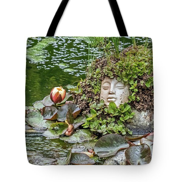 Tote Bag featuring the photograph Rock Face Revisited by Kate Brown