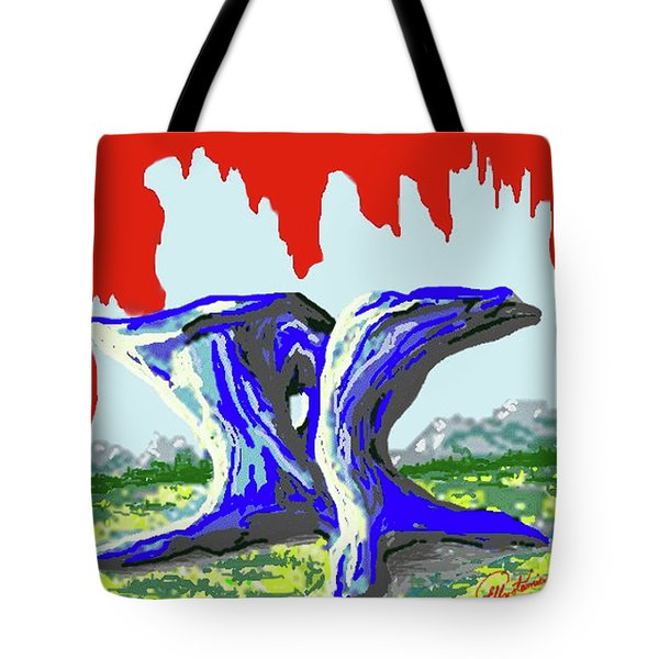 Rock Formations Tote Bag