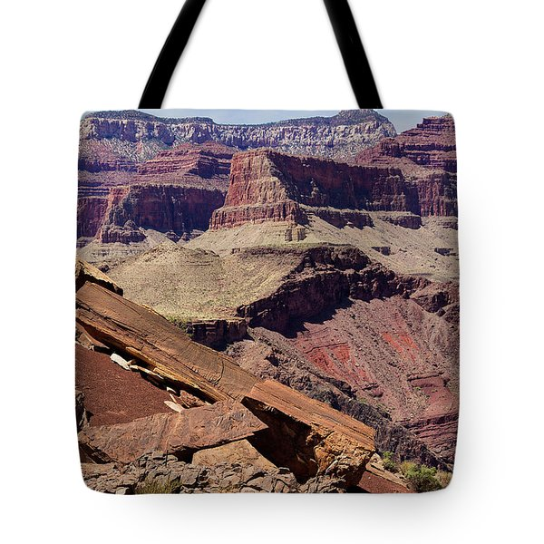 Rock Formations In The Grand Canyon Tote Bag