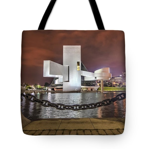 Rock Hall And The North Coast Tote Bag by Brent Durken