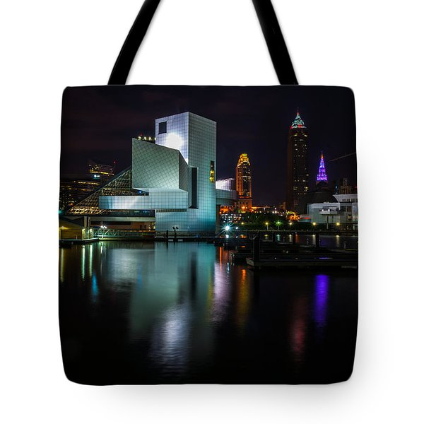 Rock Hall Reflections Tote Bag