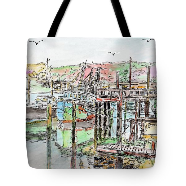 Rock Harbor, Cape Cod, Massachusetts Tote Bag